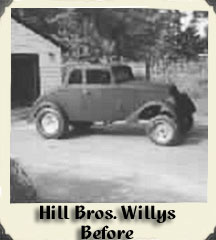 Hill Bros. Willys Pre-Red Baron