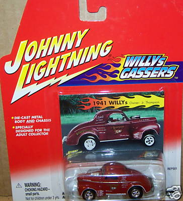Johnny Lightning 1:64 41 Willys