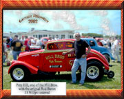 Pete Hill with the Red Baron Willys